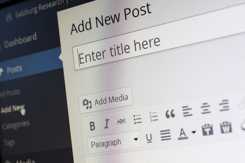 editor en wordpress