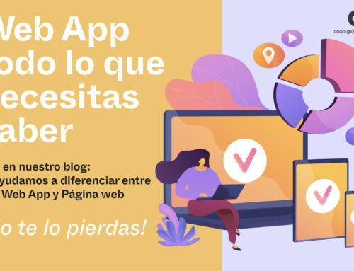 Web App: todo lo que debes saber